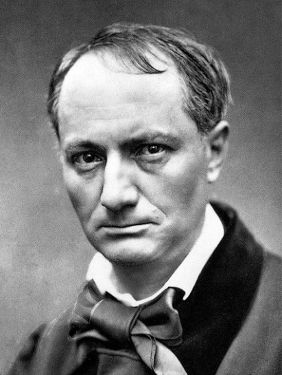 Charles Baudelaire (source : Wikipédia).