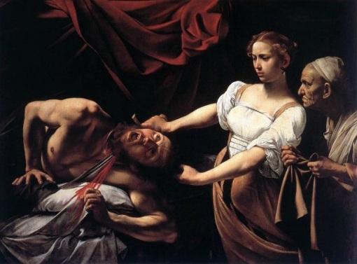 Le Caravage, Judith (c. 1595-96), Italie, Rome, palais Barberini.