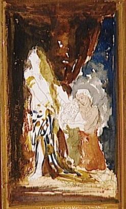 Gustave Moreau, Judith (Aquarelle de la 2e moitié du XIXe siècle) Paris, Musée Gustave Moreau.